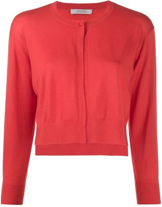 Dorothee Schumacher Cropped Fitted Cardigan