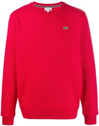 Lacoste logo embroidered sweatshirt