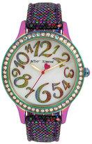 Betsey Johnson Disco Time Multi Watch