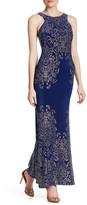 Jump Embellished Halter Gown