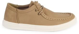 Steve Madden Boy's Faux Suede Boat Shoes