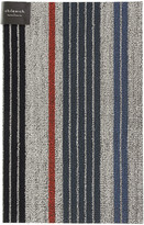 Chilewich Mixed Stripe Shag Rug - Montauk - 46x71cm