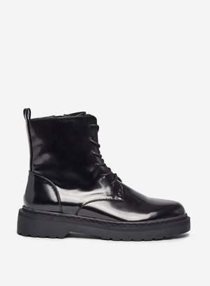 Dorothy Perkins Womens **Lola Skye Black 'Lady' Chunky Boots, Black