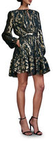 Cynthia Rowley Floral Motif Fit-&-Flare Dress