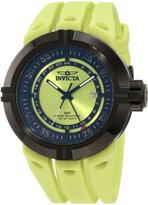 Invicta Men's Force GMT Dial Black IP Case Polyurethane
