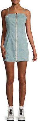 Charlie Holiday Palazzo Denim Mini Dress