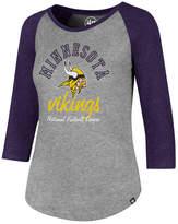 '47 Women's Minnesota Vikings Script Club Raglan T-Shirt