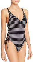 Ralph Lauren Resort Side Lace One Piece Swimsuit