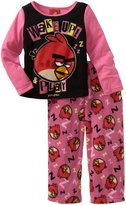 AME Sleepwear Angry Birds Wake Up & Play Pajamas for girls