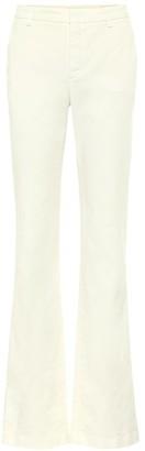 Loro Piana Alan stretch-cotton flared pants