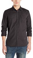 RVCA Men's Steady Long Sleeve Shirt