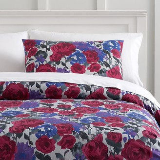 Pottery Barn Teen Watercolor Floral Duvet Cover