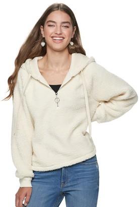 American Rag Juniors' Sherpa Pullover Sweatshirt
