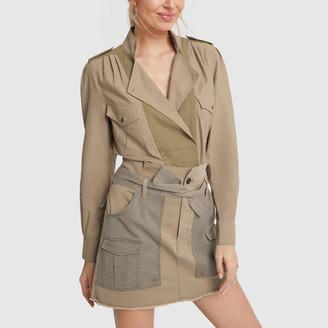 Frame Long-Sleeve Safari Shirt
