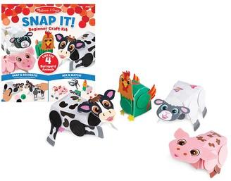 Melissa & Doug Snap It Barnyard Beginner Craft Kit