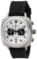 Briston Clubmaster Sport Chronograph Watch, White/Black
