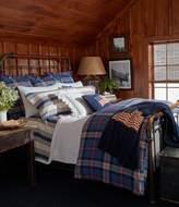 Ralph Lauren Saranac Peak Collection Bentwood Plaid Comforter