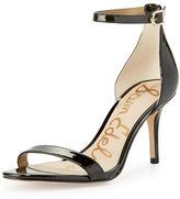 Sam Edelman Patti Patent Naked Sandal, Black