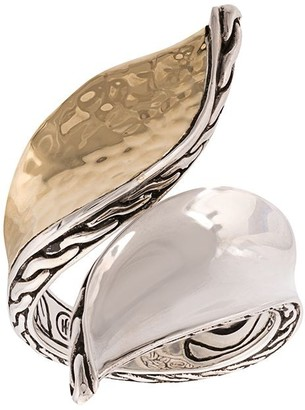 John Hardy Wave Hammered Bypass ring