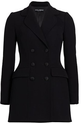 Dolce & Gabbana Double Breasted Blazer Jacket Dress