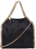 Stella McCartney Falabella Mini Tote In Black Faux Leather