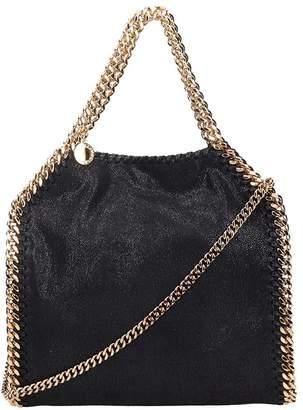 Stella McCartney Falabella Mini Tote In Black Faux Leather