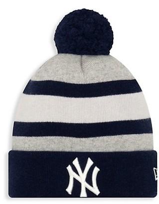 New Era New York Giants Striped Knit Beanie