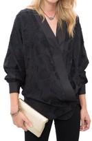 Smythe Cut Jacquard Kimono Blouse