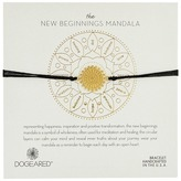 Dogeared New Beginnings Mandala Center Star Silk Bracelet