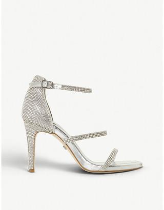 Dune Maxie diamante-embellished heeled sandals