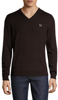 Fred Perry Classic Wool V-Neck Sweater