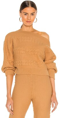 Lovers + Friends Missy Off Shoulder Sweater