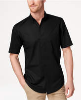 Club Room Men's Stretch Solid Shirt, Created for Macy's