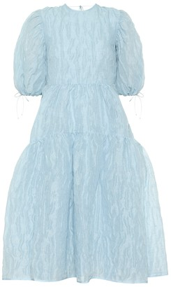 Cecilie Bahnsen Libby linen-blend midi dress