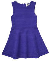 Milly Minis Sleeveless Stretch Jacquard Fit-and-Flare Dress, Size 8-14