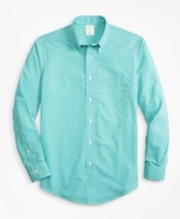 Brooks Brothers Non-Iron Milano Fit Micro-Gingham Sport Shirt