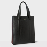Paul Smith Black 'Concertina' Tote Bag