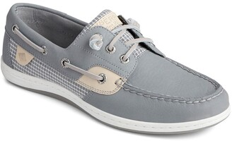 Sperry Songfish Mini Check Boat Shoe