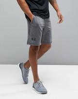 Under Armour Training Raid 8 Shorts In Grey 1257825-090