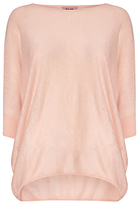 Phase Eight Becca Batwing Jumper, Powder Pink