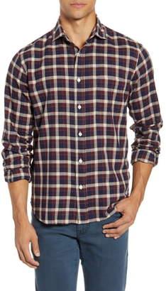 Hartford Paul Regular Fit Plaid Button-Up Shirt
