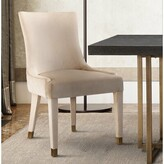Everly Diego Upholstered Dining Chair Quinn Upholstery Color: Cream