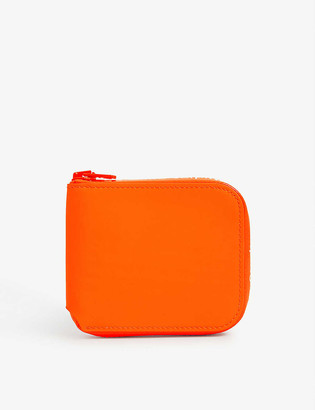 Acne Studios Neon leather wallet