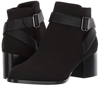 Aerosoles Maggie (Black Fabric) Women's Pull-on Boots