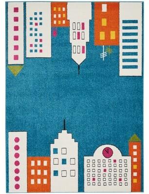 Blue Area Ebern Designs Chunn Rug Ebern Designs Rug Size: Rectangle 4' x 6'