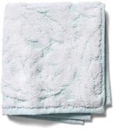 Kassatex Foglia Washcloth - Clearwater Blue