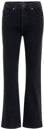 KHAITE Vivian high-rise straight jeans