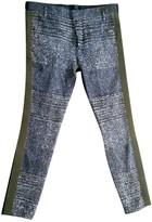 Haider Ackermann Anthracite Trousers for Women