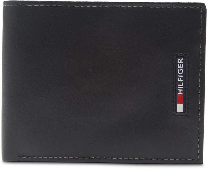 1ac74464d3 Tommy Hilfiger Black Men's Wallets - ShopStyle