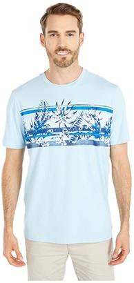 Tommy Bahama Aloha Lei Tee (Robins Egg Blue) Men's Clothing